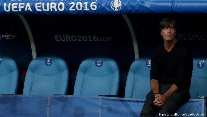 UEFA EURO 2016 - Halbfinale   Frankreich vs. Deutschland - Joachim Löw (picture-alliance/dpa/O. Weiken)