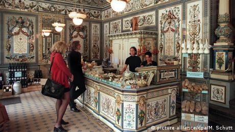 Deutschland Guiness Rekord - schönster Milchladen der Welt in Dresden