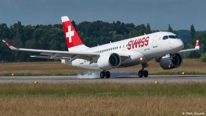 Bombardier CS100 Swiss