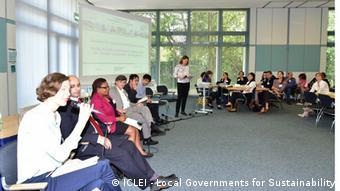 Daniel Ryan, junto a otros participantes del foro mundial organizado por ICLEI.