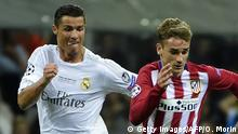 UEFA Champions League Real Madrid - Atletico Madrid