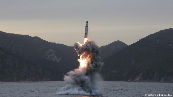 Nordkorea Raketentest (picture-alliance/dpa)