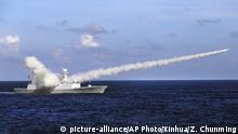 China Südchinesisches Meer - Manöver