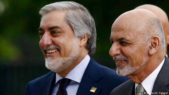 Polen Nato-Gipfel in Warschau - Ghani & Abdullah (Reuters/K. Pempel)