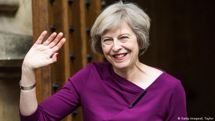 Großbritannien London Theresa May