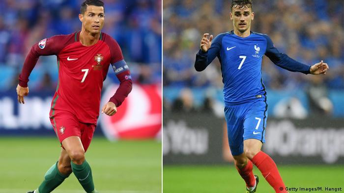 f3cfeb2c4dfda Cristiano Ronaldo e Antoine Griezmann  campeão pode sair na frente na  disputa pela Bola de