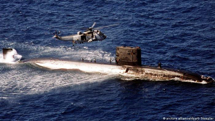 Britisches Atom-U-Boot HMS Turbulent