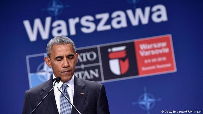 NATO Gipfel Polen Obama