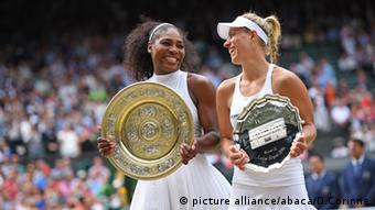 Serena Williams beat Angelique Kerber at Wimbledon to take her 22nd Grand Slam title picture alliance/abaca/D.Corinne