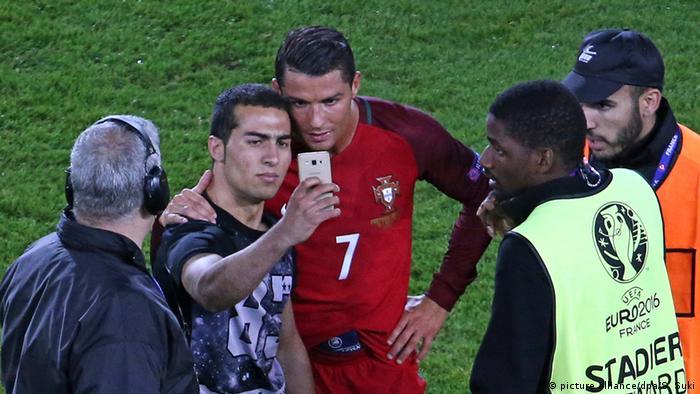Frankreich Euro 2016 Ronaldo Selfie Fan