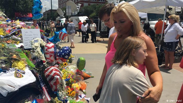 USA Black Lives Matter Trauer in Dallas
