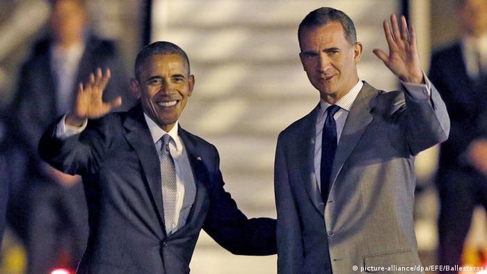 Dallas shooting overshadows Obama's shortened visit to Spain