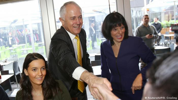 Australien Wahl - Premierminister Malcolm Turnbull