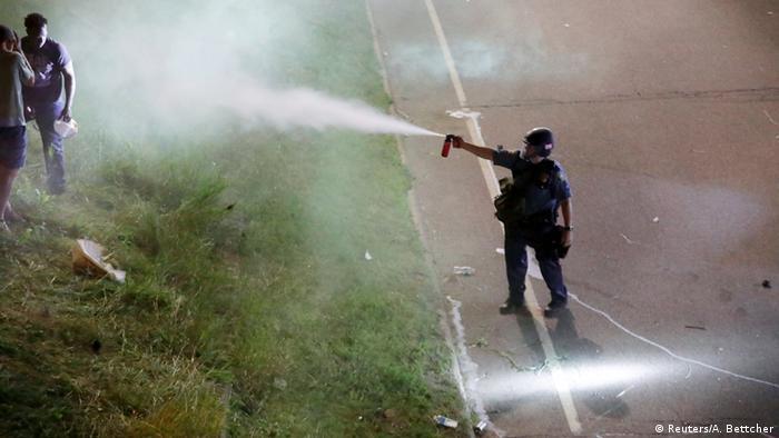 USA Protest gegen Polizeigewalt in St. Paul, Minnesota