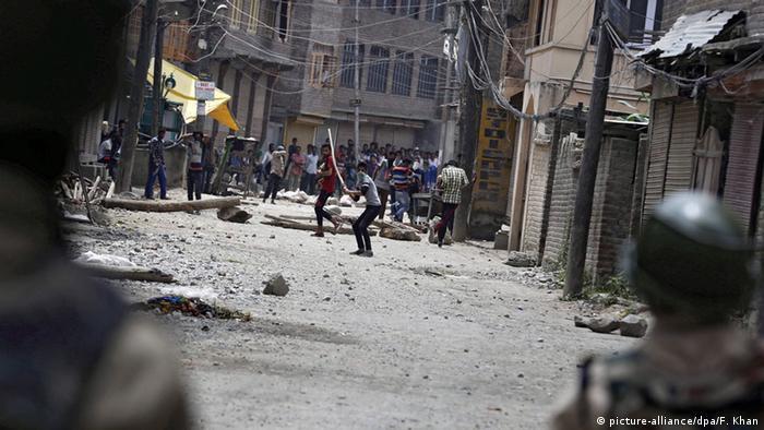 Kaschmir Auseinandersetzungen in Srinagar
