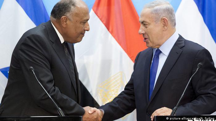 Israel Ägyptischer Außenminister zu Besuch