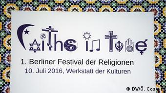 Berlin Festival der Religionen 2016