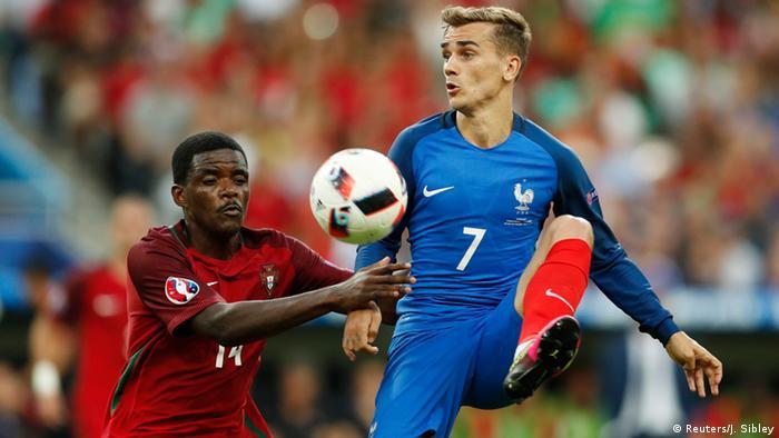 França Euro 2016 Final Portugal William Carvalho e Antoine Griezmann (França)