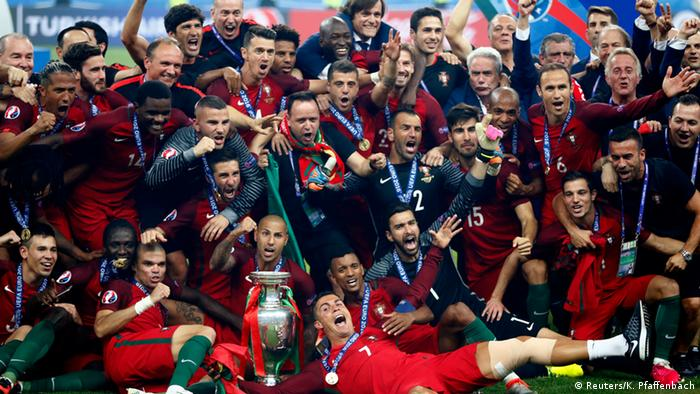 who won the euro cup