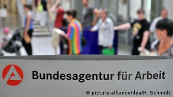 Germany's unemployment agency (picture-alliance/dpa/H. Schmidt)