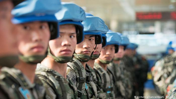 China UN-Friedenstruppen für Südsudan