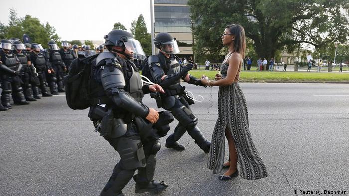 woman Copyright: Reuters/J. Bachman