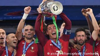 Frankreich UEFA Euro 2016 Finale Portugal ist Europameister