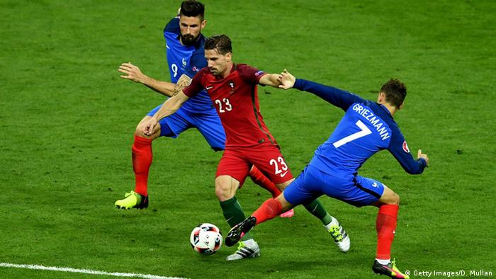 França UEFA Euro 2016 Final Portugal Adrien Silva #23