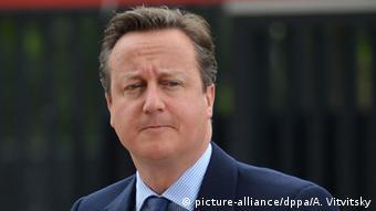 Großbritannien David Cameron Premierminister
