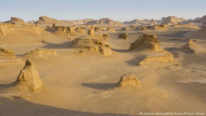 Iran Wüste Lut