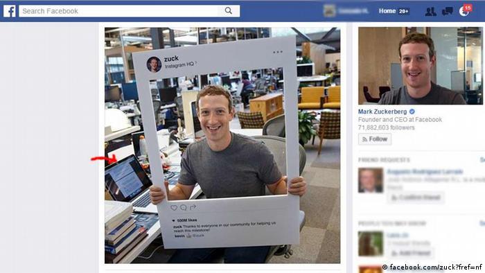 USA Facebook-Chef Mark Zuckerberg klebt die Kamera und das Mikrofon seines Laptops ab