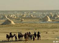 A desert caravan