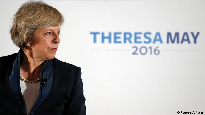 Großbritannien Theresa May Conservative Party