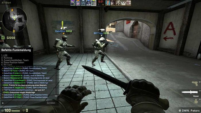 First-person shooter game Counter-Strike (Photo: DW/N. Peters)