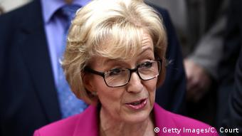 Die Tory-Politikerin Andrea Leadsom (Foto: Getty Images/C. Court)