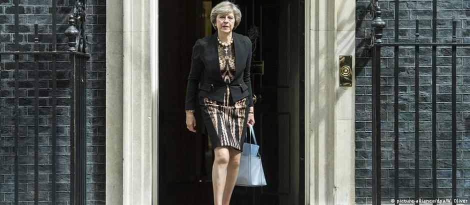 Downing Street, número 10: novo endereço de Theresa May em Londres