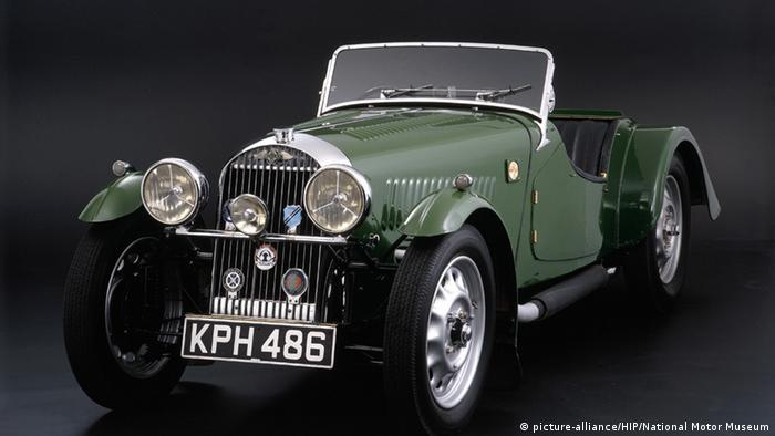 Britisches Automodell Morgan 4/4 (picture-alliance/HIP/National Motor Museum)