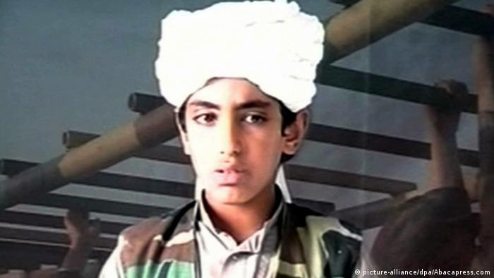Hamza bin Laden Sohn von Osama Bin Laden (picture-alliance/dpa/Abacapress.com)