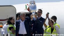 Portugal festeja vitória no Euro 2016