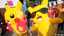(160108) -- BANGKOK, Jan. 8, 2016 -- Photo taken on Jan. 8, 2016 shows Pikachu mascots in front of a shopping mall in Bangkok, Thailand. The event Pokemon Day-Pikachu Dance Party 2016 is being held from Jan. 8 to Jan. 10 at Paragon Shopping Mall in Bangkok. ) THAILAND-BANGKOK-PIKACHU PARTY RachenxSageamsak PUBLICATIONxNOTxINxCHN 160108 Bangkok Jan 8 2016 Photo Taken ON Jan 8 2016 Shows Pikachu Mascots in Front of a Shopping Mall in Bangkok Thai country The Event Pokemon Day Pikachu Dance Party 2016 IS Being Hero from Jan 8 to Jan 10 AT Paragon Shopping Mall in Bangkok Thai country Bangkok Pikachu Party RachenxSageamsak PUBLICATIONxNOTxINxCHN © Imago