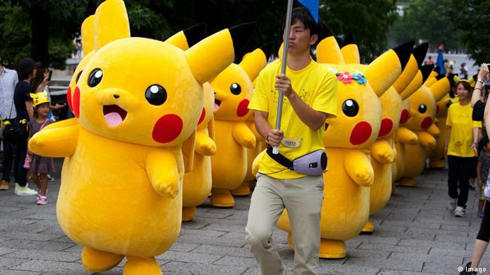 Pikachu Parade in Japan. (Foto: Imago)