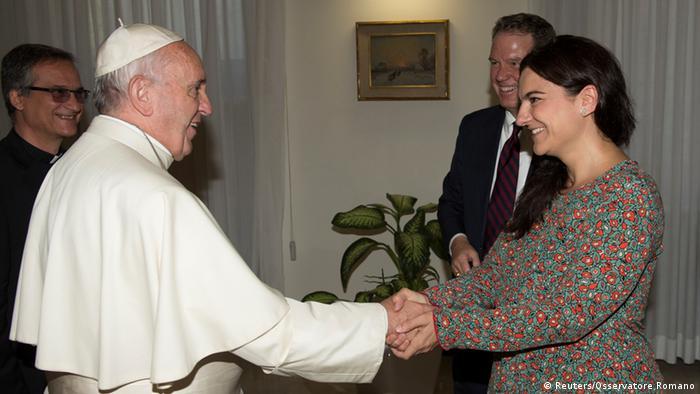 Paloma Garcia Ovejero, deputy to Greg Burke in Pope Francis' press office
