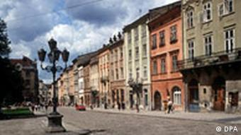 Lvov's town square