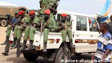 Südsudan Opposition Soldaten