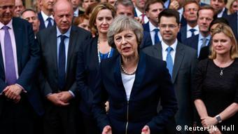 Großbritannien Theresa May Statement