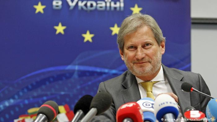 Ukraine Johannes Hahn