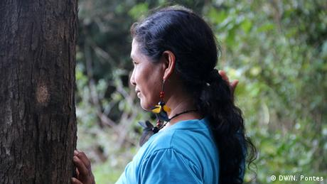 Maria Aniceia Akay from the Munduruku