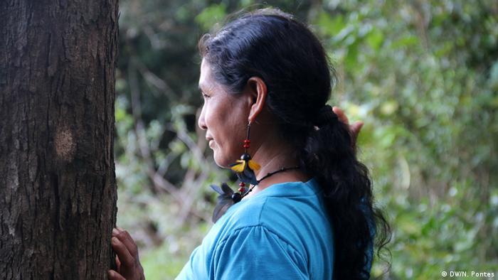 Brasilien Volkstamm Munduruku Maria Aniceia