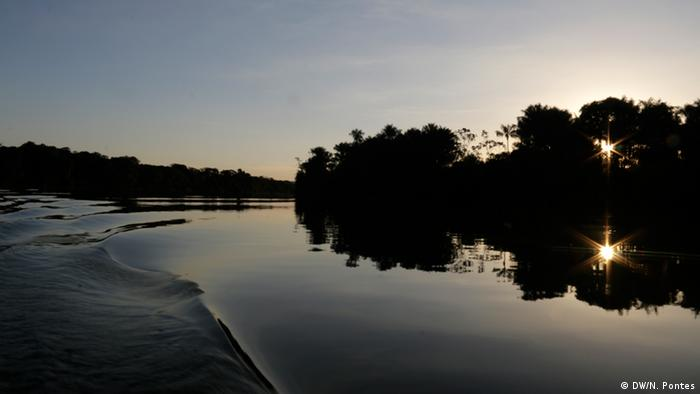 Tapajos River in Brazil