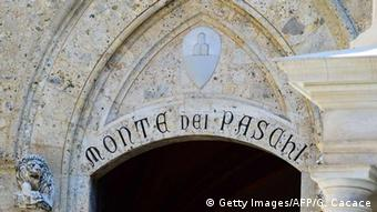 Italy's Monte dei Paschi di Siena Bank (Getty Images/AFP/G. Cacace)